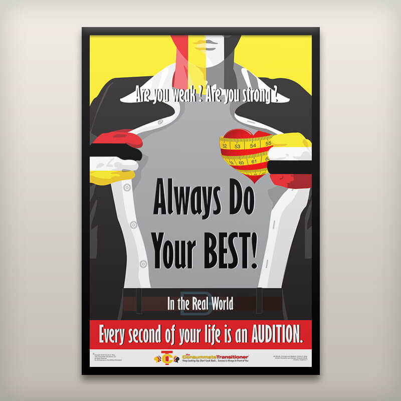 Always Do Your Best Poster