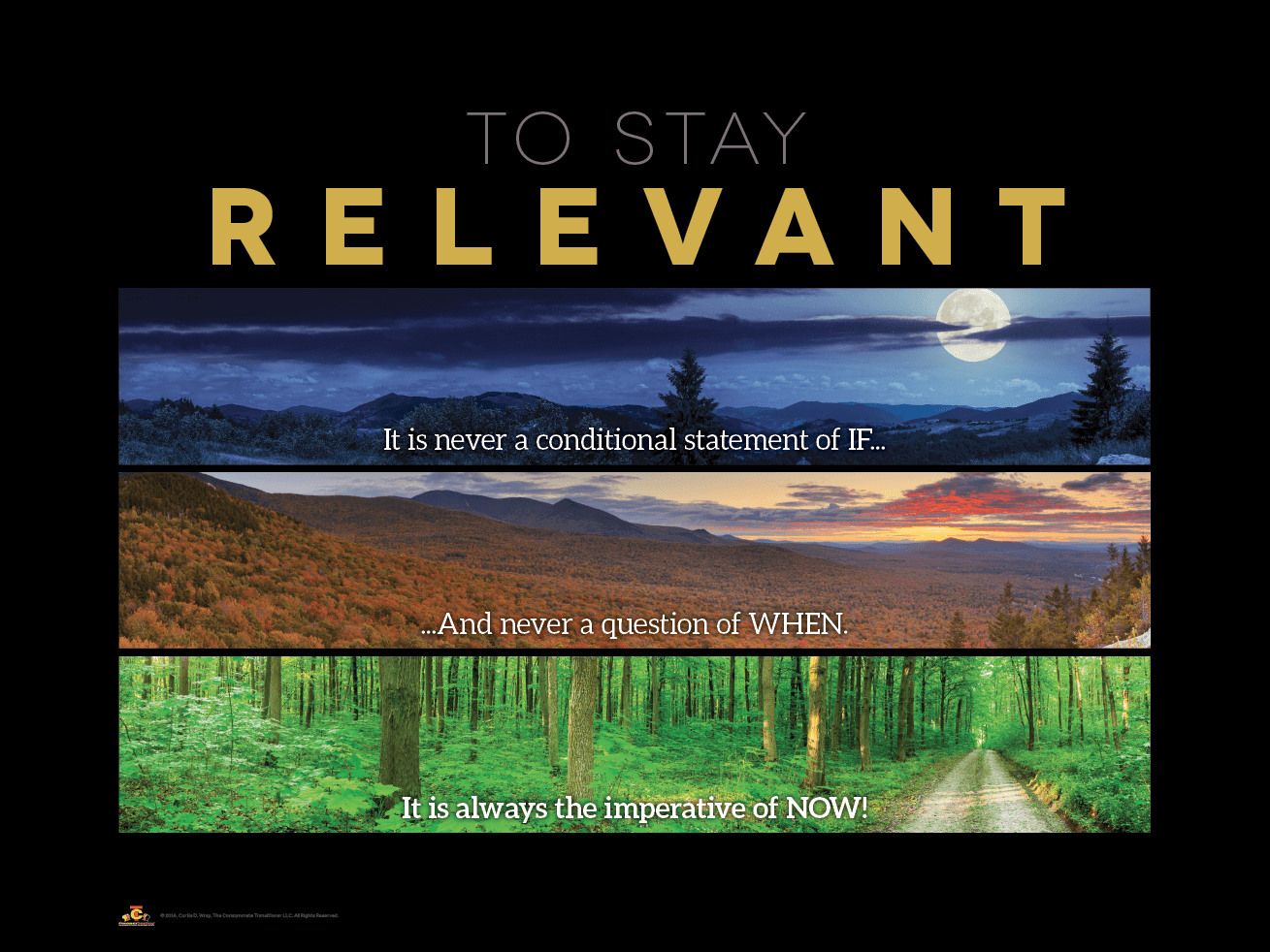 Staying Relevant Poster